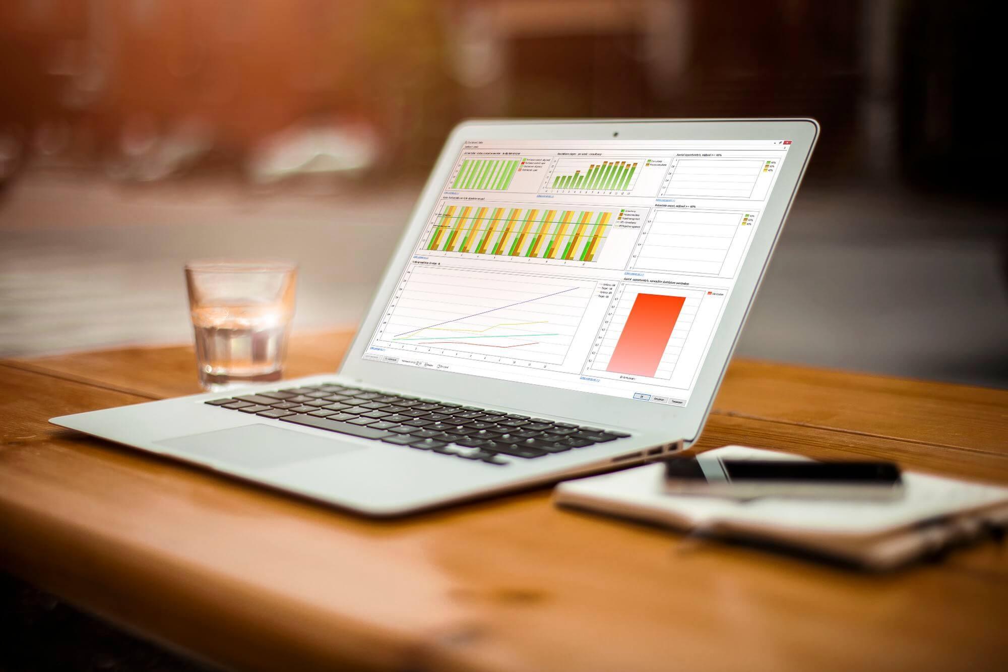 Krijg inzicht in de resultaten van uw helpdesk met de service desk software van Mproof.